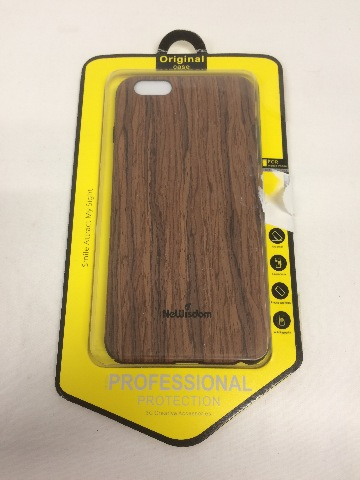 NeWisdom iPhone 6/6S PLUS Case, Thin, Non-Slip Cover, Sandalwood