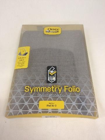 Otterbox SYMMETRY SERIES FOLIO iPad Air 2 Case - GLACIER (WHITE/GREY)