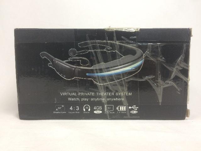 Virtual Private Theatre Video Glasses 52 Inch Virtual Screen
