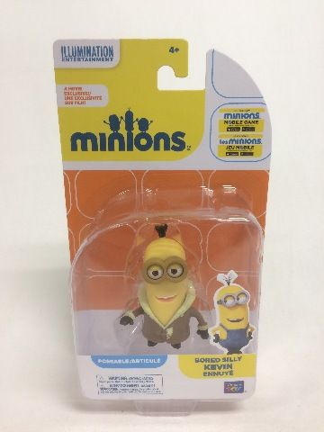 """Despicable Me 2"""" Collectible Figure - Bored Silly Minion Kevin"""