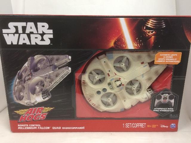 Disney Star Wars Remote Control Ultimate Millennium Falcon Quad