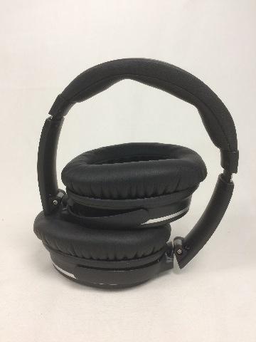 Jiffy Noise Canceling Wireless Bluetooth Over-ear Stereo Headphones w/Mic, Black