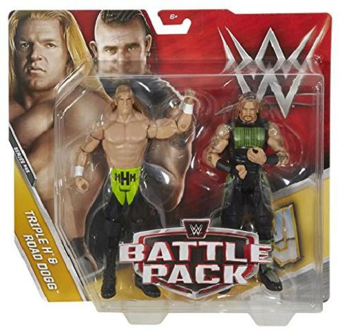 Triple H & Road Dogg - Wwe Battle Packs 45 Mattel Toy Wrestling Action Figures