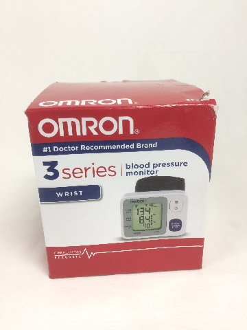 Omron 3 Series Wrist Blood Pressure Monitor - Clinically Proven Accurate
