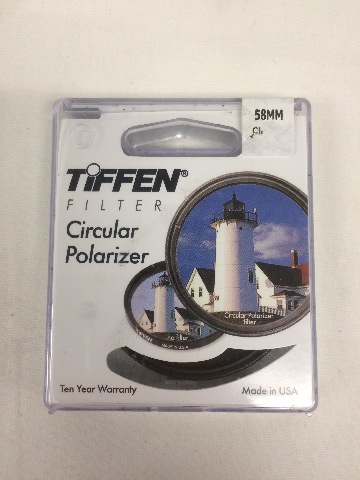 Tiffen 58mm Circular Polarizer