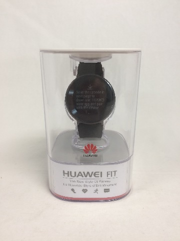 Huawei Fit Smart Activity Tracker, Heart Rate & Sleep Monitor, Black, Large