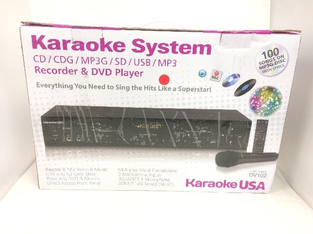 Karaoke USA DV102 Karaoke Player - missing remote