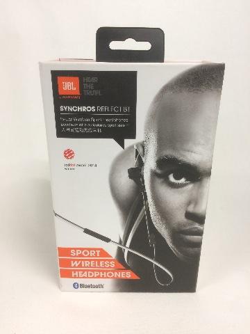 JBL Synchros Reflect BT In-Ear Bluetooth Sport Headhpones Black