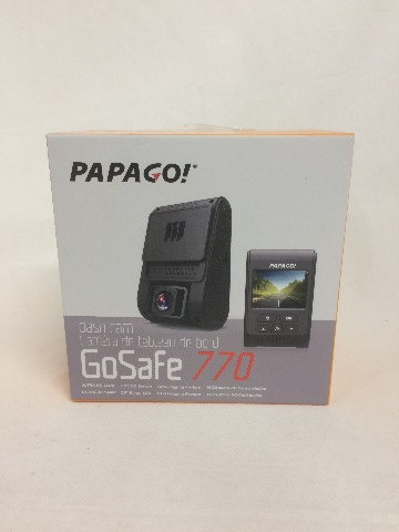 PAPAGO Car Dash Camera GoSafe 770 Ultra HD, 1440p Car DVR, Night Vision, black