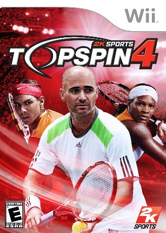Top Spin 4 - Wii