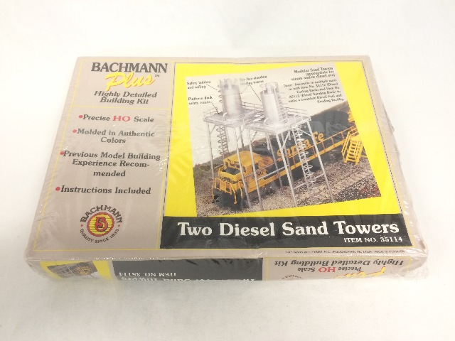 Bachmann Diesel Sand Towers Building Kit No. 35114