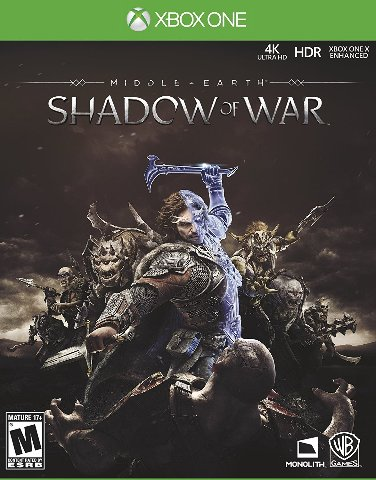 Middle-Earth: Shadow of War Xbox One - Standard Edition - SEALED