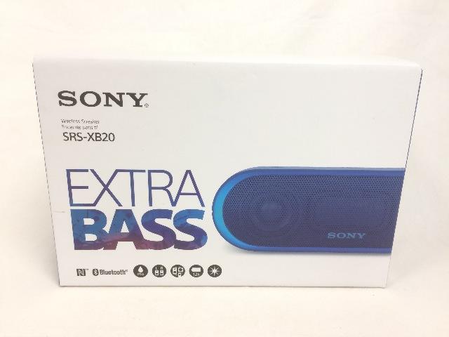 Sony SRS-XB20 Portable Wireless Speaker - Blue