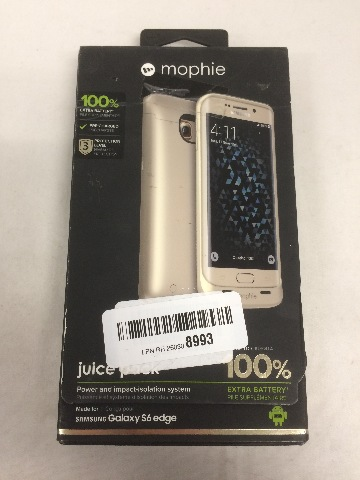 mophie juice pack for Samsung Galaxy S6 Edge Only (3,300mAh) - Gold