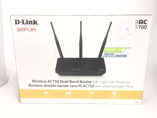 D-Link AC750 DIR-819 Wireless AC Dual Band Router
