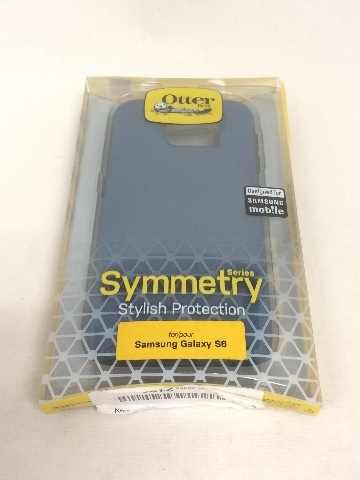 OtterBox SYMMETRY for Samsung Galaxy S6 - City Blue (Dark Deep Water Blue/Grey)