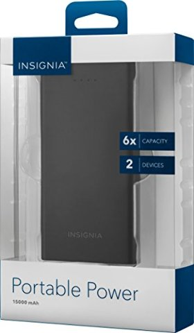 Insignia 15000mah Portable Power - NS-MB15002-C