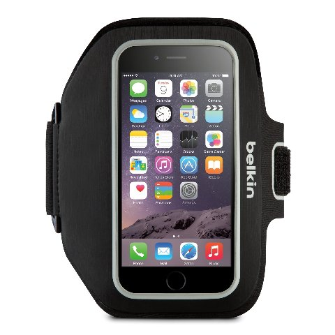 Belkin Sport-Fit Plus Armband for iPhone 6 (Blacktop / Overcast)