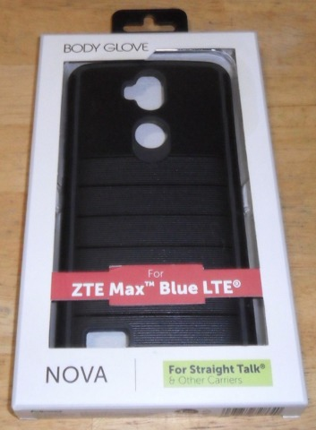 Body Glove 9607701 Case For Zte Max Blue Z986