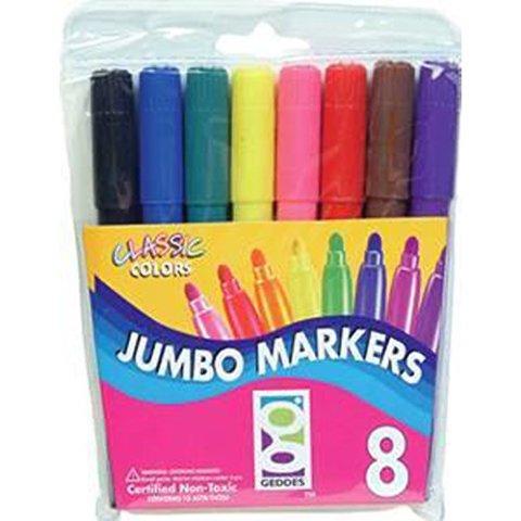 Raymond Geddes, 8 Jumbo Markers