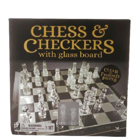 Chess and Checkers with Glass Board
