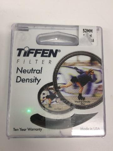 Tiffen Neutral Density filter 52mm Density0.6