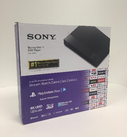 Sony BDP-S6700 Wi-Fi Streaming Blu-ray Player