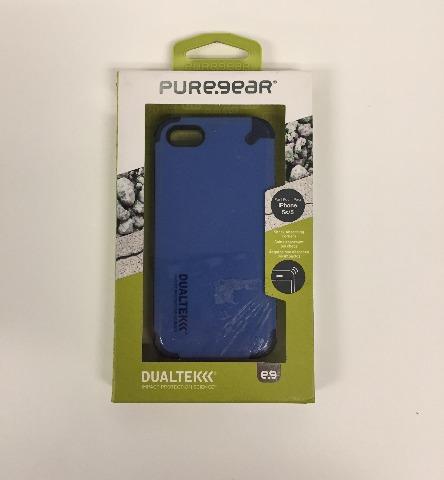 Puregear 02-001-01862 DualTek Extreme Impact Case  for iPhone 5 - Blue