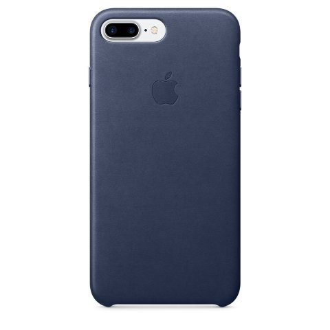 Apple Leather Case for iPhone 7 Plus - Midnight Blue
