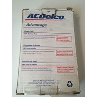 ACDelco Advantage 14D702M Disc Brake Pad
