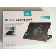 Merkury Innovations Laptop Cooling Stand Metal Mesh Surface with Silent Fan