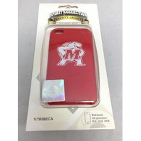 Tribeca Maryland Terrapins iPod Touch 4th Gen Silicone Case