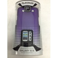 Platinum Series - Case With Holster For Samsung Galaxy S III - Purple
