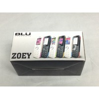 BLU Zoey T176 - Black/red Cellular Phone