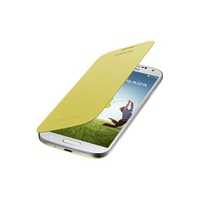 Samsung Galaxy S4 Flip Cover Folio Case (Yellow)