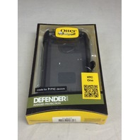 Otterbox 77-26377 Defender Series Hybrid Case For HTC One - Black with Holster