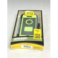Defender Series Case For Apple iPhone 5 - Punk Blue/Green