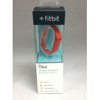 Fitbit Flex Wireless Activity + Sleep Wristband, Tangerine - NEW