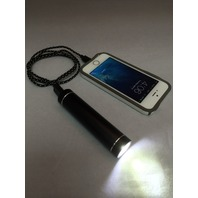 USB Portable Power Bank 2600mAh cell phone charger with Bright Flashlight