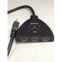 3-Port HDMI Switch with Pigtail Cable - DVD PS3 Xbox