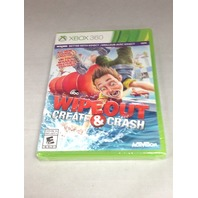 Wipeout: Create & Crash - Xbox 360 - NEW SEALED