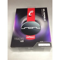 Sol Republic 1211-UCN Collegiate Series Tracks On-Ear Headphone- U Of Cincinnati