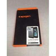 Spigen [Air Cushion] Apple iPhone 5s/5/SE Case Bumper Ultra Hybrid Series, Black