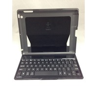 Belkin Ultimate Wireless Keyboard And Case For iPad 2, 3 and 4 - Black/Silver