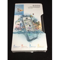 GENUINE Lifeproof iPhone 5c Nuud Case  - White/Grey/Clear