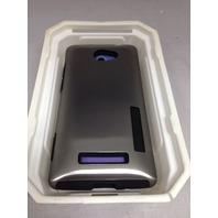Incipio Ht-320 Dualpro Shine Case For Htc Windows Phone 8x -  Retail Silver/Blac