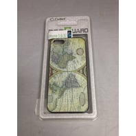 Cellet World Map Proguard Case For iPhone 5 - Black