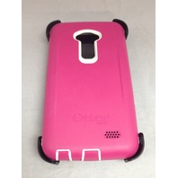 OtterBox Defender Series Case for LG G3 Papaya (White/Peony Pink)