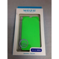 Mozo Lumia 630-638 Flip Case - Green
