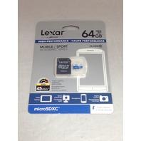 Lexar 64 GB microSDXC Class 10